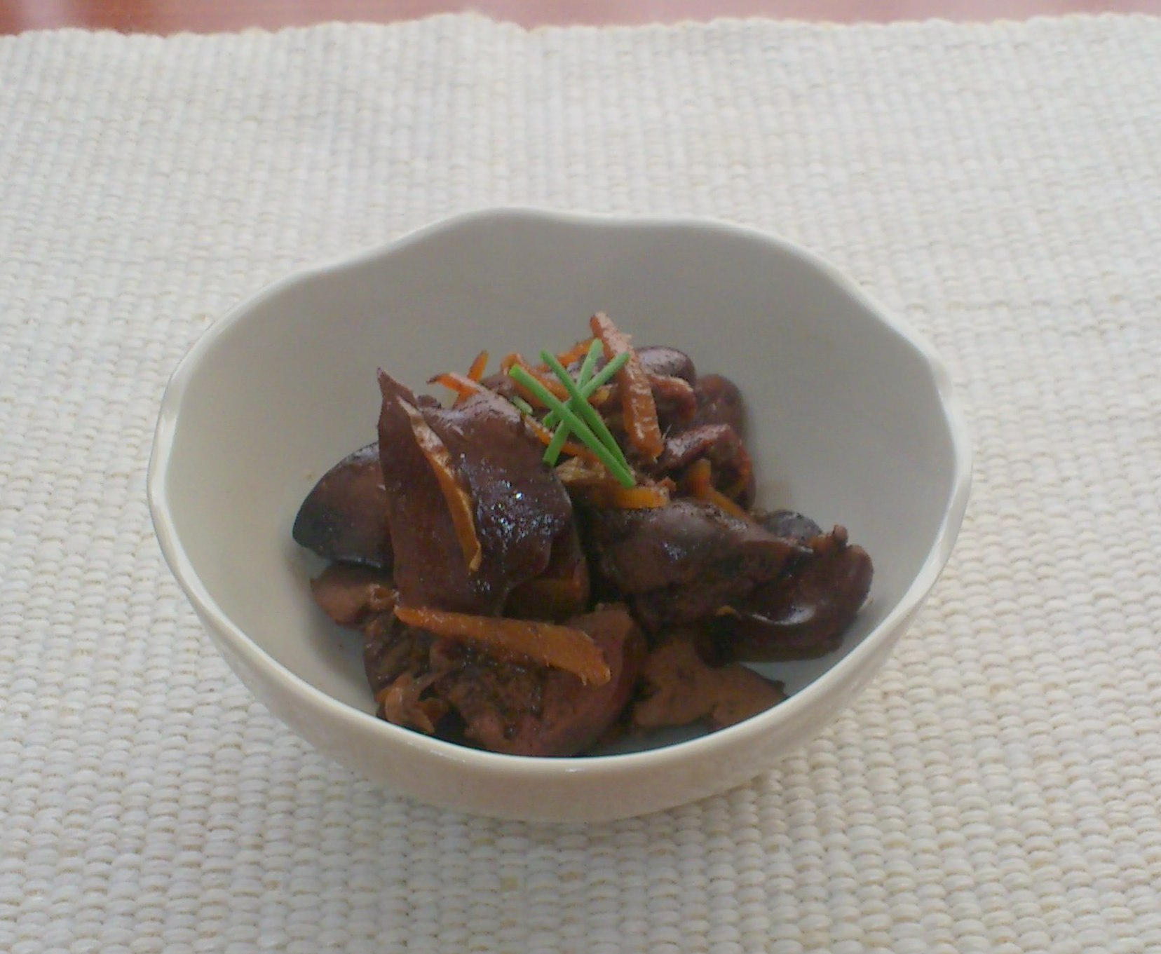 《常備菜》鶏レバーの生姜煮