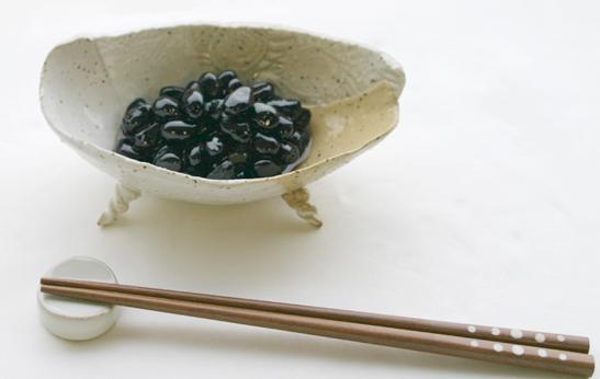 《常備菜》黒豆の八角しょうゆ漬け